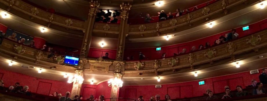 Givande besök på Gents opera