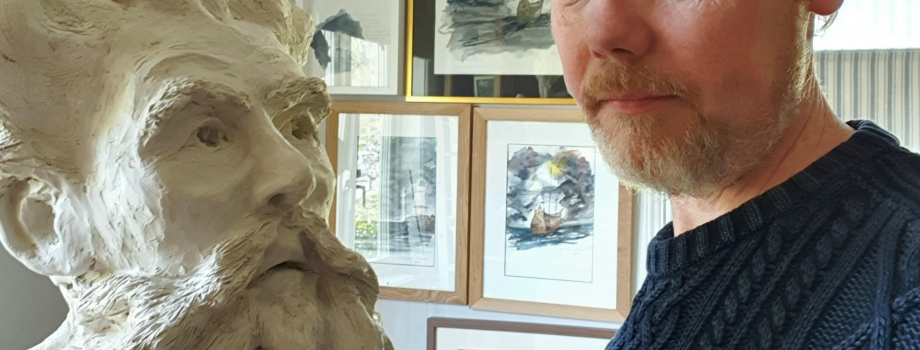 ARTIST POSTCARD FROM KARL-MAGNUS FREDRIKSSON!