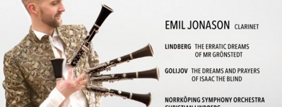 Jonason's new CD on BIS just released!