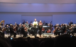 Great reviews after world premiere of Lindström's Clarinet Concerto