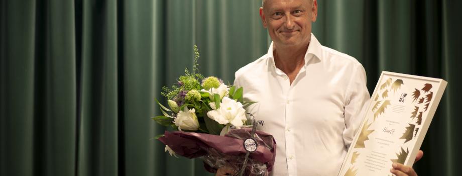 Hans Ek receives the Swedish Arts Grants Committee's first annual Grand Music Award!