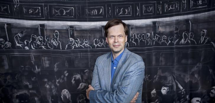 Dirigenten Patrik Ringborg till On a Boat!