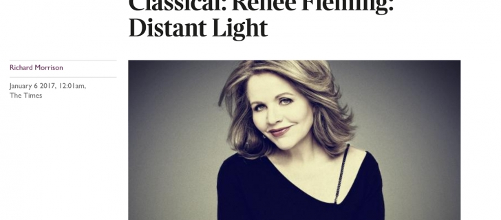 Renée Fleming and Hans Ek prasied in The Times review!